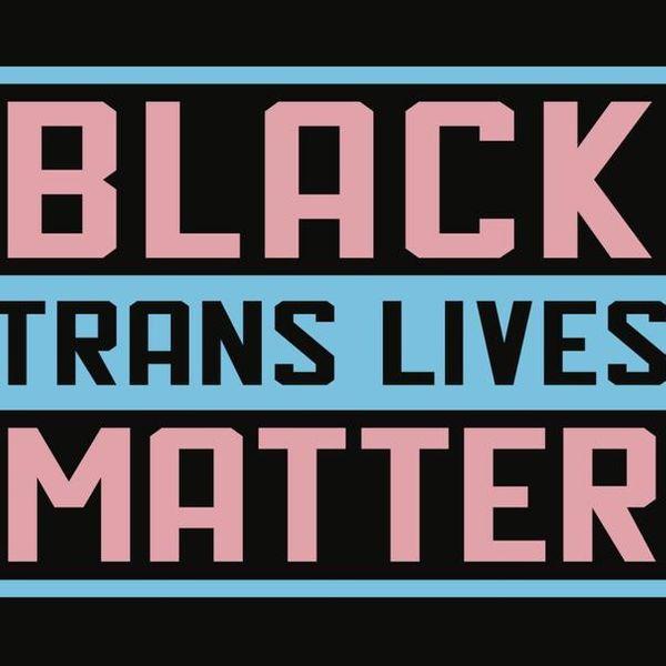 C and D Designs Inc. Black Trans Lives Matter Yard Sign