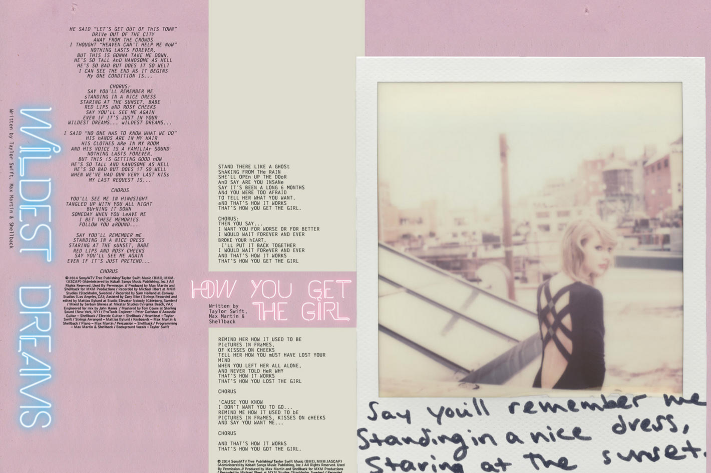 Who Is Each Song On Taylor Swift S 1989 About