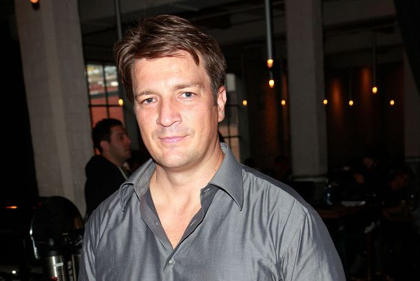 TORONTO, ON - SEPTEMBER 08: Actor Nathan Fillion attends The Hollywood Reporter TIFF Video Lounge Presented By Canon during the 2012 Toronto International Film Festival at Brassaii on September 8, 2012 in Toronto, Canada.  (Photo by Todd Oren/Getty Images For The Hollywood Reporter)