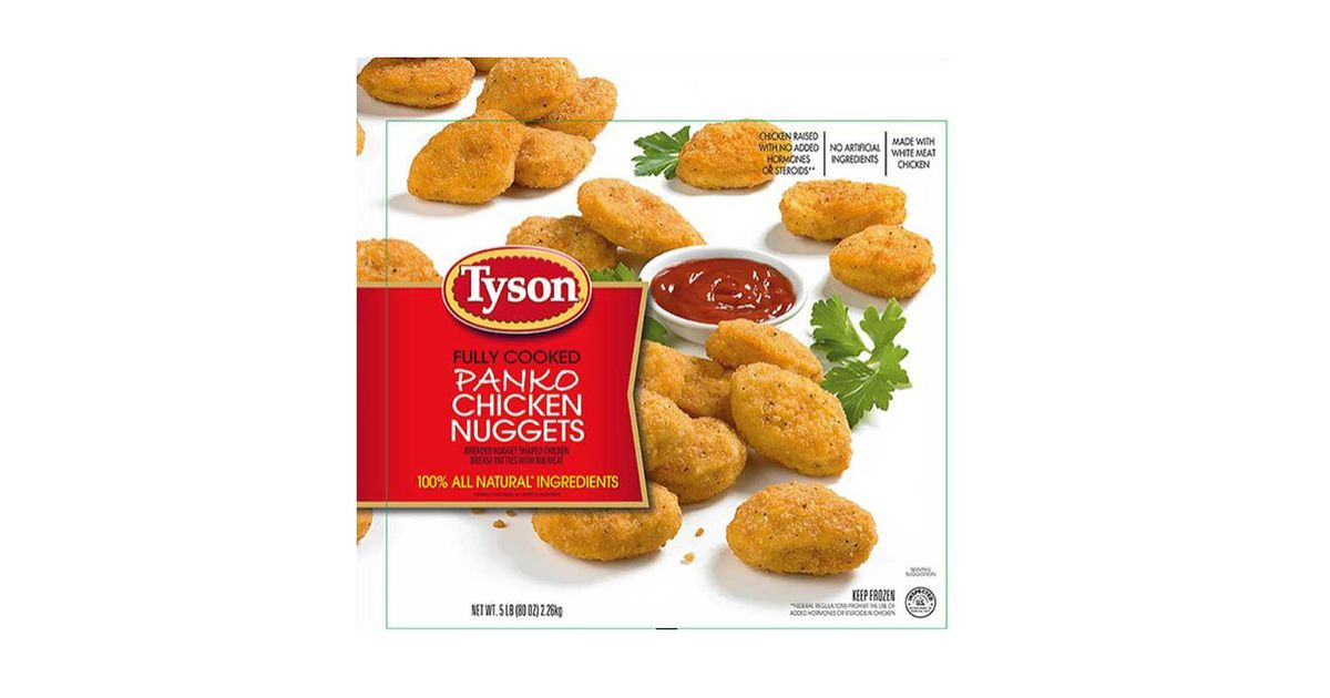 Tyson Recalls Chicken Nuggets That May Contain Plastic