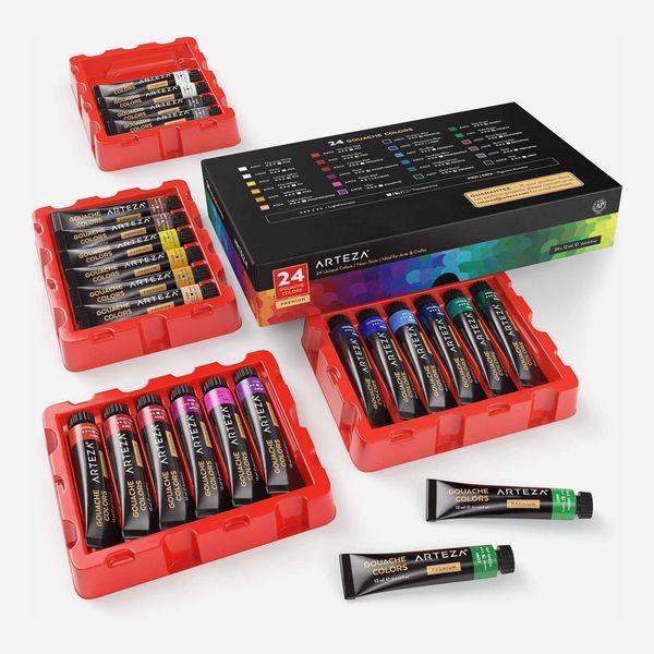 Arteza Gouache Professional Artist Paint Art Supply Set