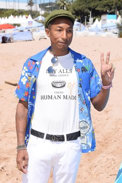 Noted father, Pharrell Williams.