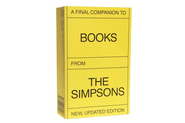 A Final Companion to Books From the Simpsons (New, Updated Version)