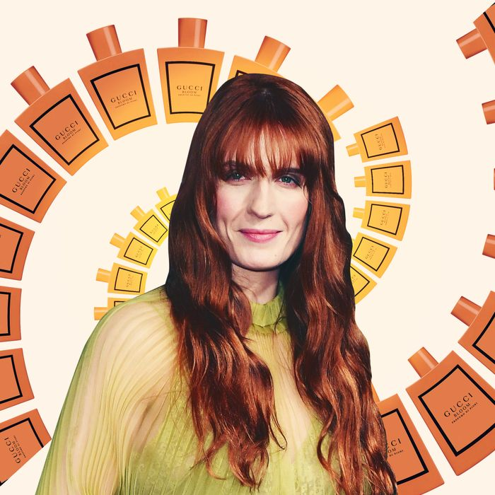 Florence Welch On Her Favorite Scents Smells Gucci Bloom