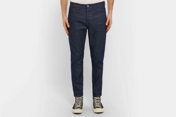 Acne Studios River Tapered Stretch-Denim Jeans