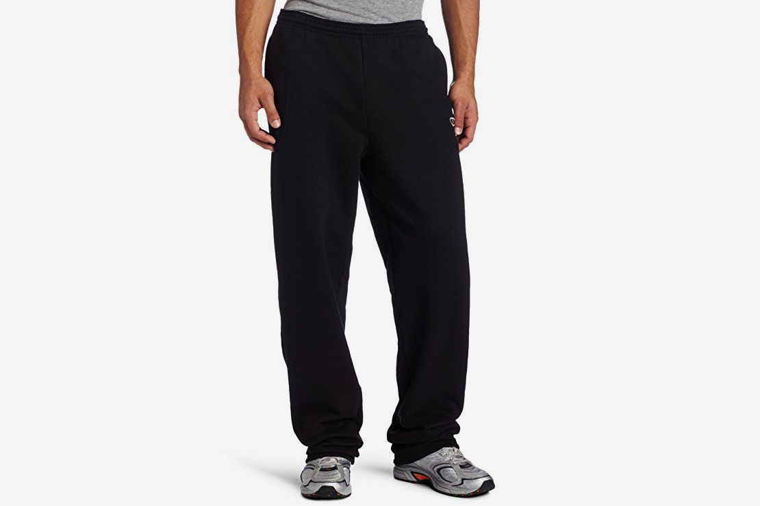 7b0fe9f66ec1 Champion Men s Open Bottom Eco Fleece Sweatpant