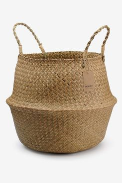 Dokot Natural Seagrass Storage Basket