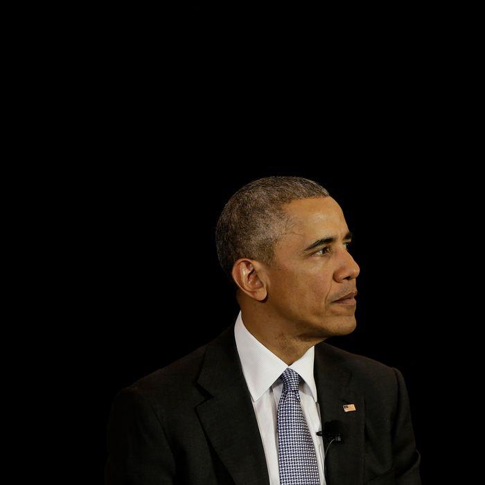 Obama Discusses U.S. Supreme Court At University Of Chicago Law School