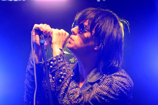 Julian Casablancas performing live during day 3 of the 2010 Coachella Valley Music & Arts Festival at The Empire Polo Club in Indio, CA,  April 18, 2010.  ? David Atlas / Retna.
