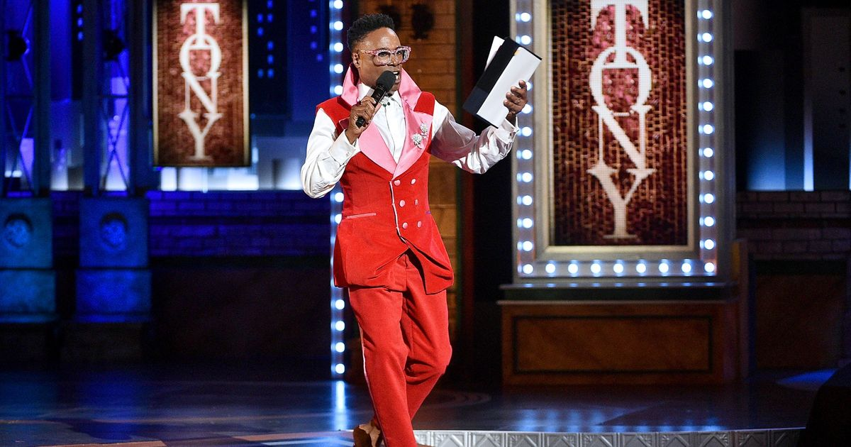 Billy Porter Took the Tonys Stage During a Commercial Break and Sang Gypsy
