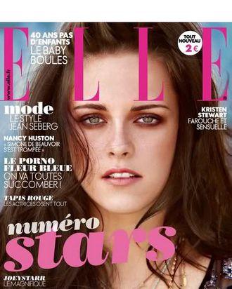 Kristen Stewart for French <em>Elle</em>.