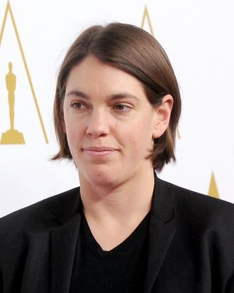 BEVERLY HILLS, CA - FEBRUARY 10: Producer Megan Ellison attends the 86th Academy Awards nominee luncheon at The Beverly Hilton Hotel on February 10, 2014 in Beverly Hills, California. (Photo by Kevin Winter/Getty Images)