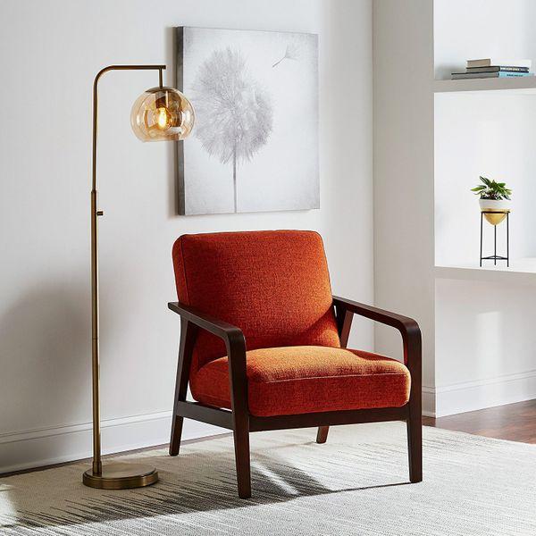 Rivet Huxley Mid-Century Accent Chair