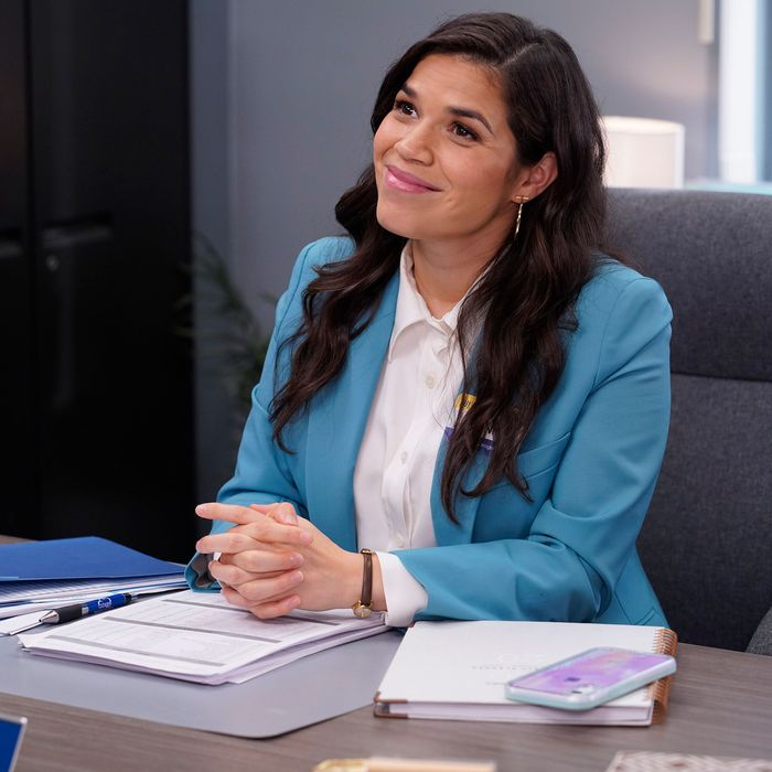 America Ferrera as Amy Sosa on Superstore.