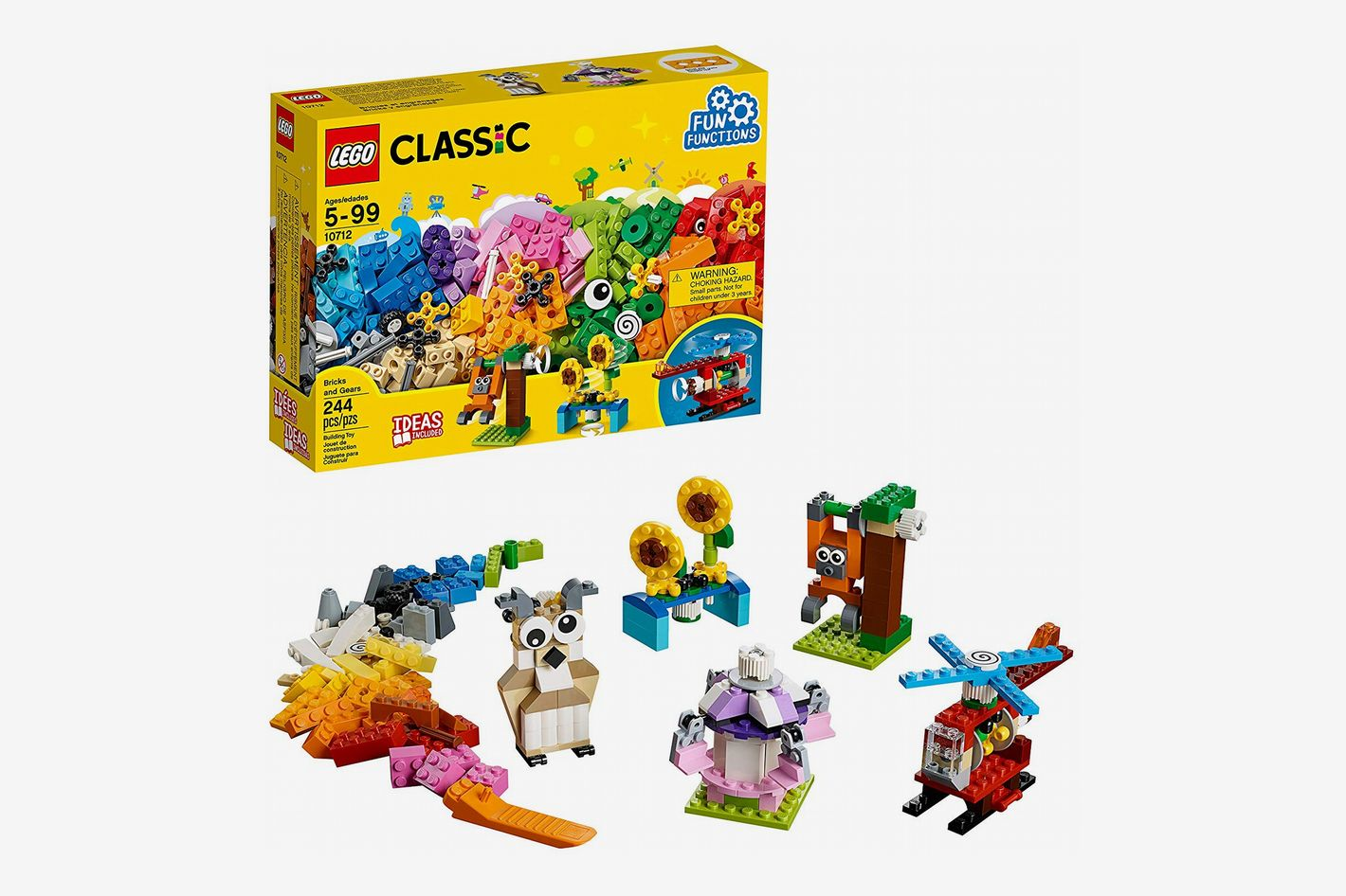 Lego Classic Bricks and Gears Building Set