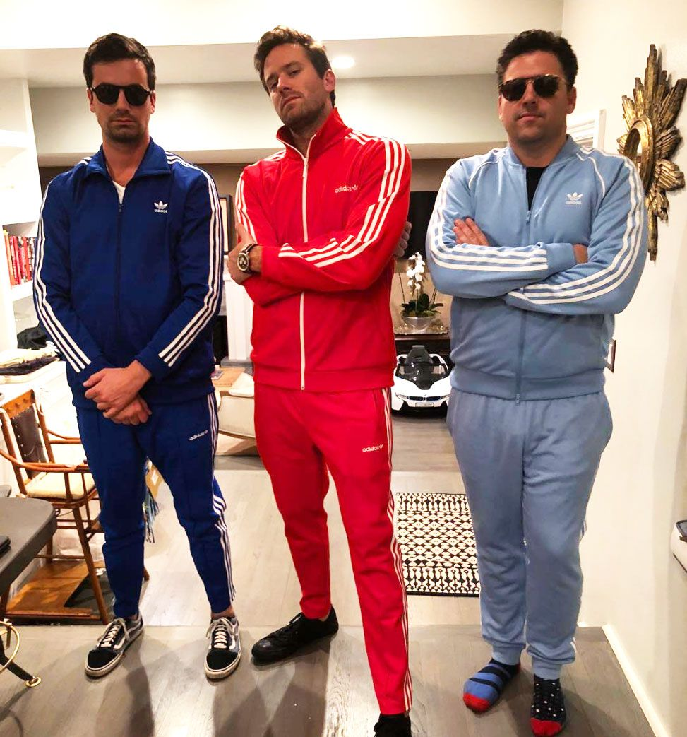 14585f9311f 10 Times Celebrities Wore Tracksuits