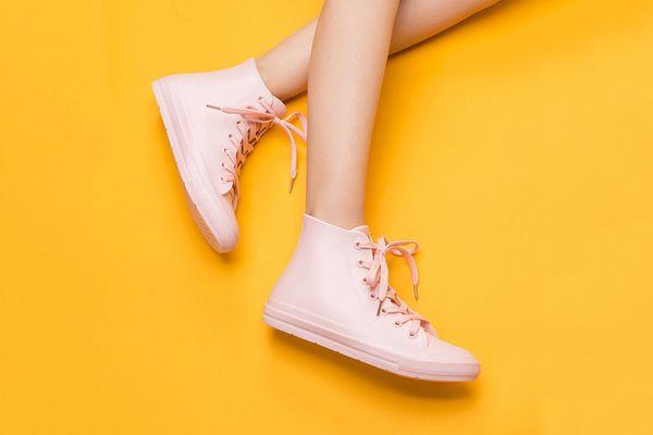 DKSUKO Women's High Top Rain Boots