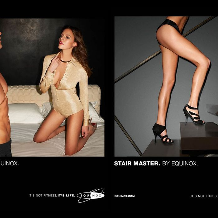 Terry Richardson's Equinox ads.