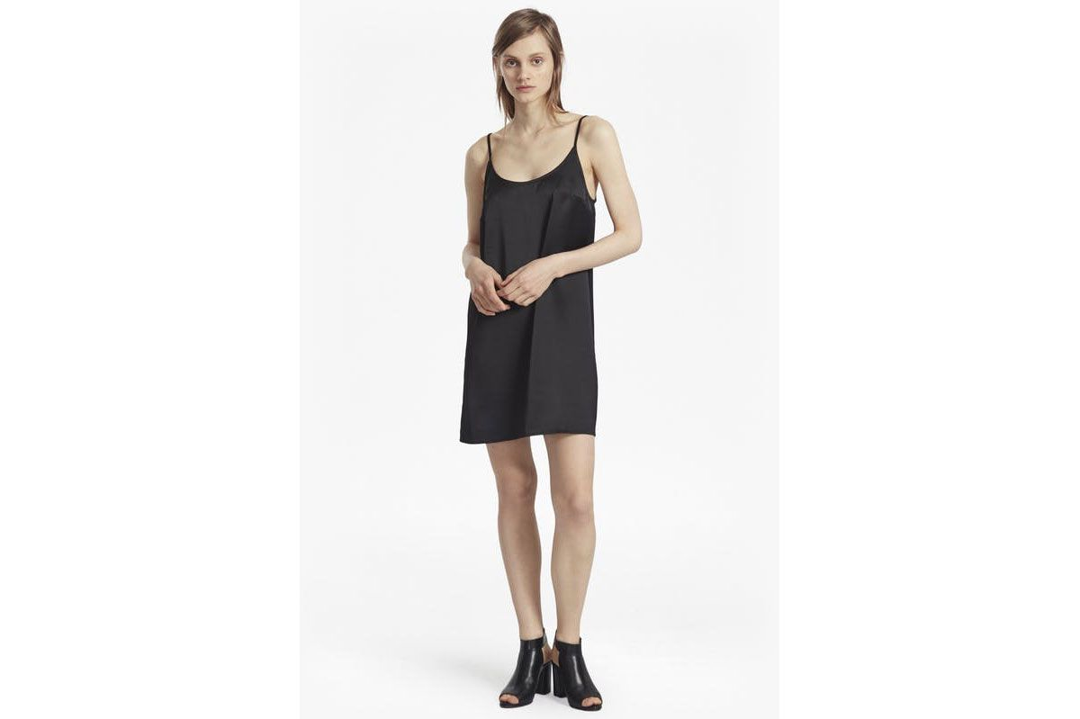 French Connection Sasha Satin Slip Dress