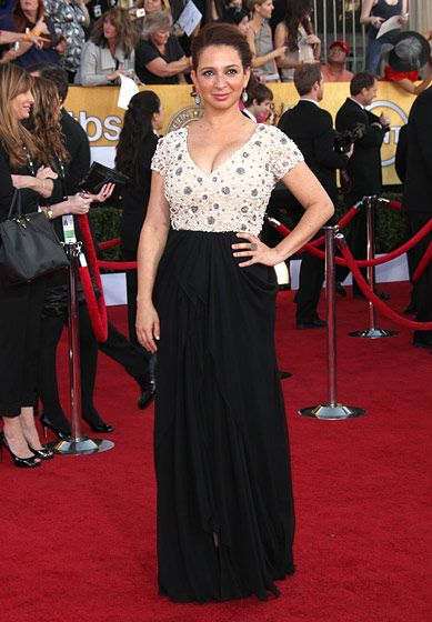 18th Annual Screen Actors Guild Awards at the Shrine <P> Pictured: Maya Rudolph <P><B>Ref: SPL355246  290112  </B><BR/> Picture by: Jen Lowery / Splash News<BR/> </P><P> <B>Splash News and Pictures</B><BR/> Los Angeles:310-821-2666<BR/> New York:212-619-2666<BR/> London:870-934-2666<BR/> photodesk@splashnews.com<BR/> </P>