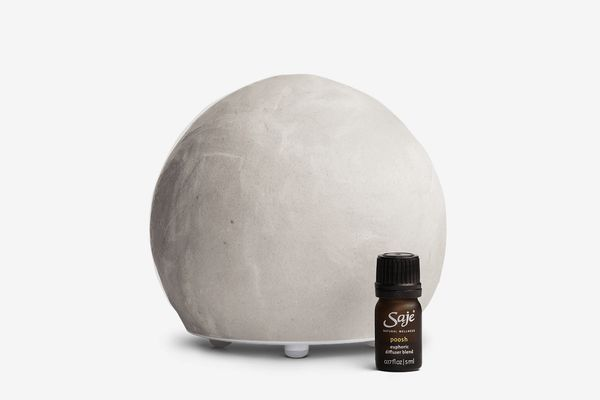 Saje Positively Poosh Diffuser in Grey