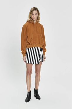 Stelen Abi Bold Stripe Mini Skirt