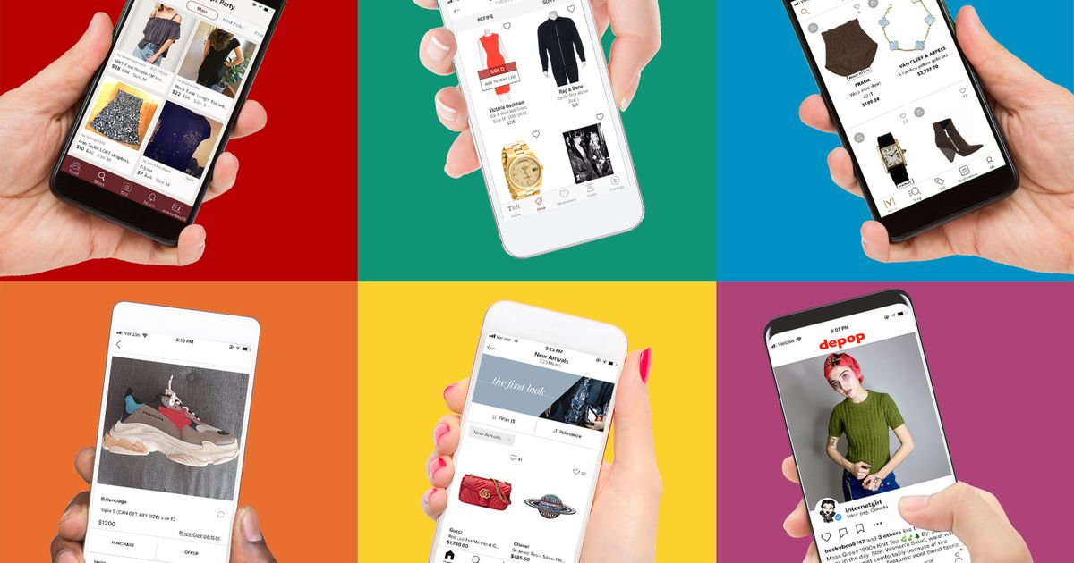 e3d1358da Re-commerce Apps and Resale: Depop, Poshmark, The Real Real