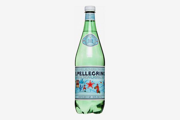 San Pellegrino Sparkling Natural Mineral Water 1 Liter