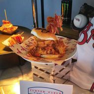 Atlanta Braves Unleash Ballpark Sandwich That's Literally Glazed With Energy Drink