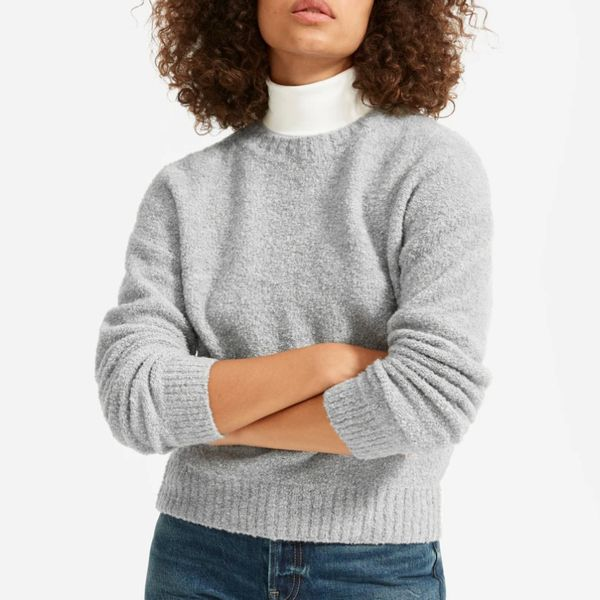 Everlane Teddy Crew Neck Sweater
