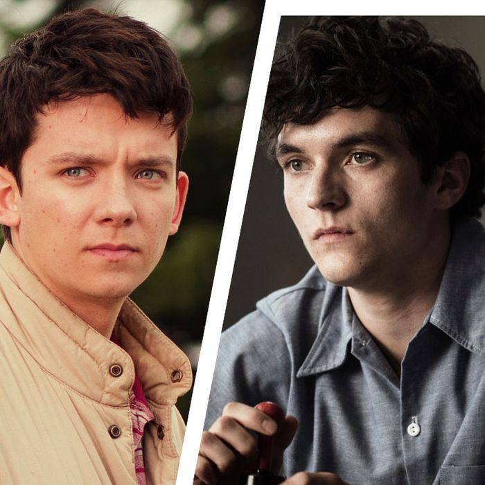Alex Lawther, Asa Butterfield, and Fionn Whitehead.