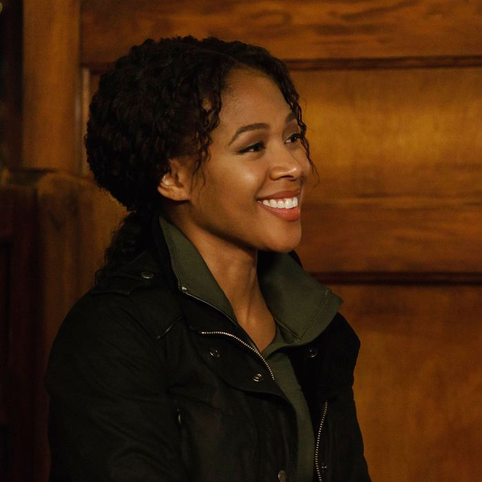 "SLEEPY HOLLOW: Nicole Beharie in the""Ragnarok"" season finale episode of SLEEPY HOLLOW airing Friday, April 8 (8:00-9:00 PM ET/PT) on FOX. ©2016 Fox Broadcasting Co. Cr: Tina Rowden/FOX"