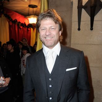 HOLLYWOOD, CA - MARCH 17: Actor Sean Bean attends the after party for Relativity Media's