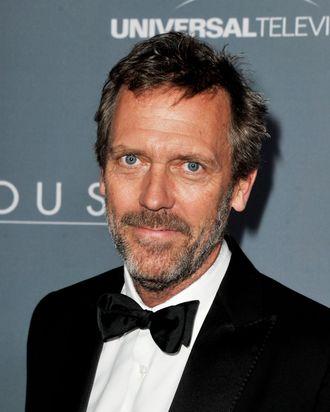 LOS ANGELES, CA - APRIL 20: Actor Hugh Laurie arrives at Fox's