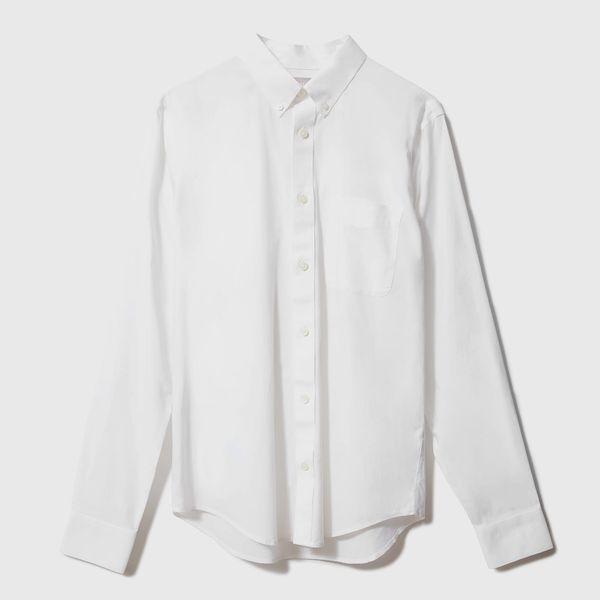 Everlane Standard Fit Performance Air Oxford Shirt