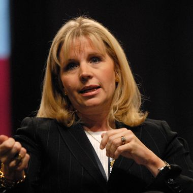 Image #: 5258220    Former Deputy Assistant Secretary of State for Near East Affairs Elizabeth Cheney participates on a panel discussion about Israel and the Mideast at the American Israel Public Affairs Committee conference in Washington on June 2, 2008.    UPI Photo /Landov