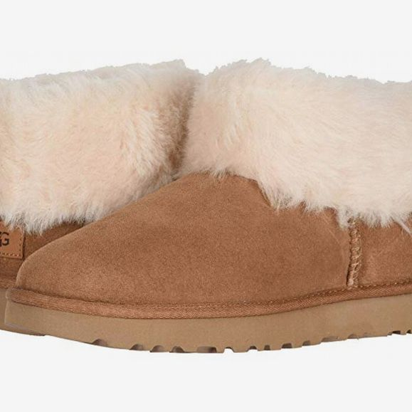 Ugg Classic Mini Fluff, Chestnut - strategist best ugg classic mid fluff boot light brown