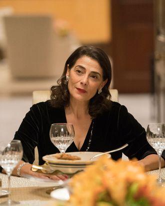 Hiam Abbass as Marcia Roy.