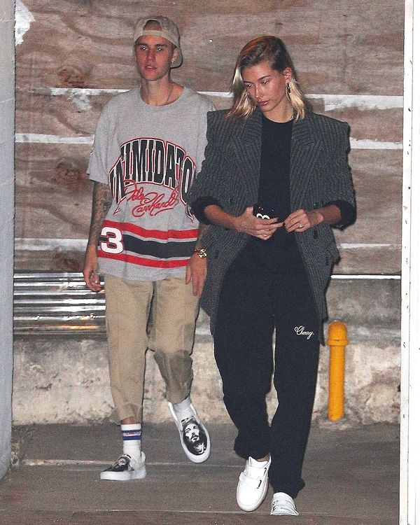 Justin Bieber Wears Jesus Slides Post Malone Designs Crocs