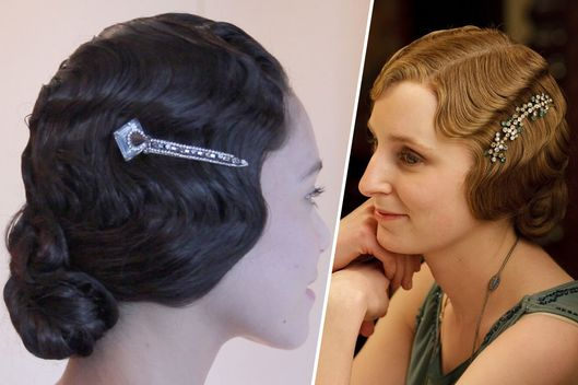 Tremendous Beauty Gif How To Get Lady Edith39S Finger Waves The Cut Hairstyle Inspiration Daily Dogsangcom
