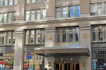 General exteriors of Katie Holmes' apartment, the Chelsea Mercantile Building on July 2, 2012 in the Chelsea neighborhood of New York City.