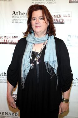NEW YORK, NY - FEBRUARY 09:  Theresa Rebeck attends the 2012 Athena Film Festival: A Celebration Of Women And Leadership Opening Night Reception at Barnard College on February 9, 2012 in New York City.  (Photo by Robin Marchant/Getty Images)