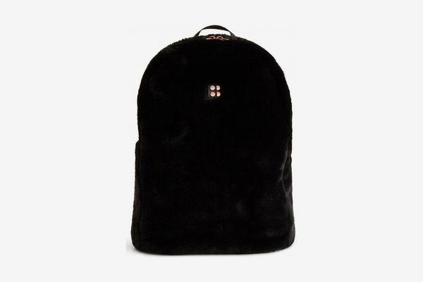 Sweaty Betty Faux Fur Backpack
