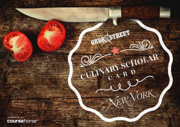 Grub Street's Culinary Scholar Card Is a Great 11th-Hour Christmas Gift