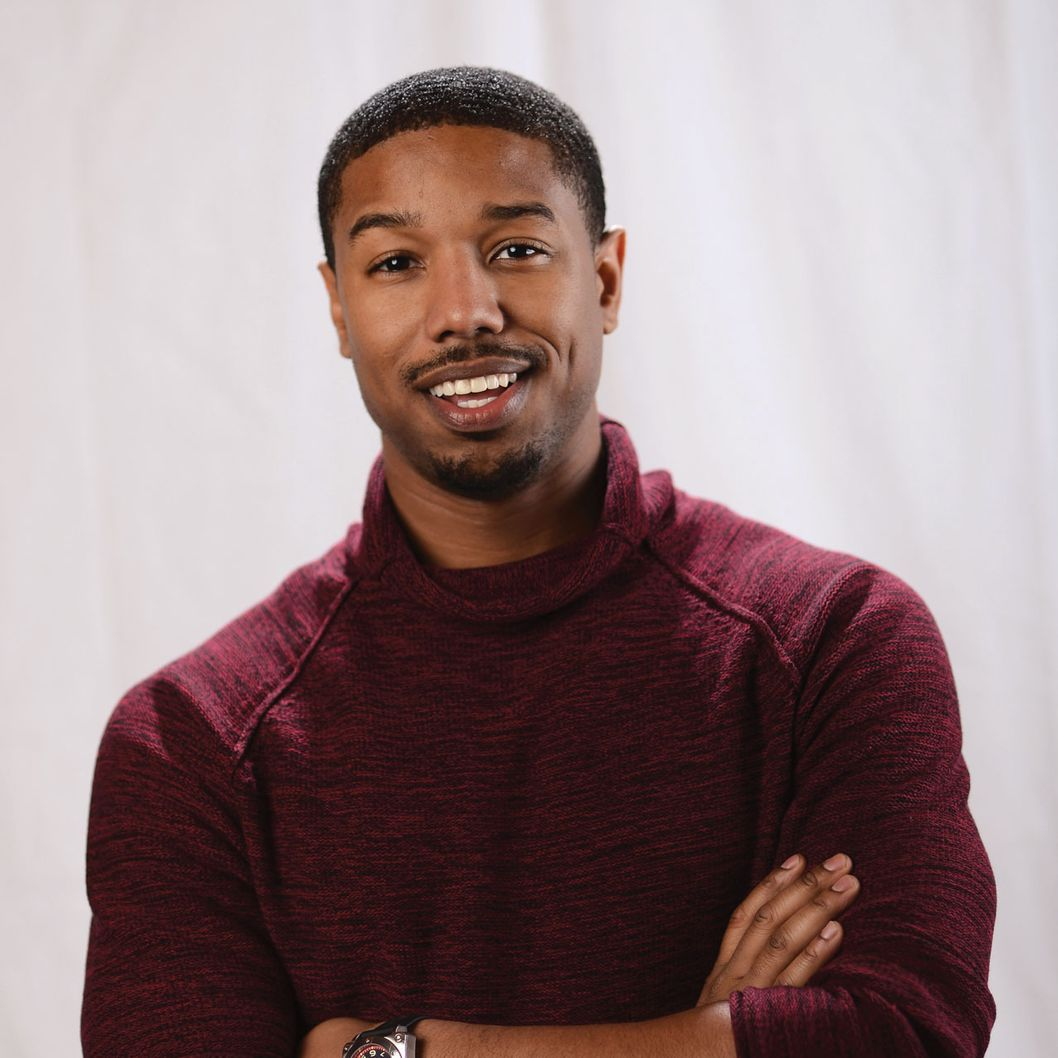 PARK CITY, UT - JANUARY 20:  Actor Michael B. Jordan poses for a portrait at the photo booth for MSN Wonderwall at ChefDance on January 20, 2013 in Park City, Utah.  (Photo by Michael Buckner/Getty Images for Wonderwall)