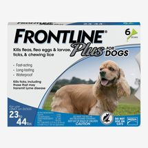 Frontline Plus for Dogs (23 to 44 lbs)