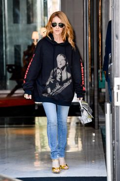 Celine Dion in Vetements
