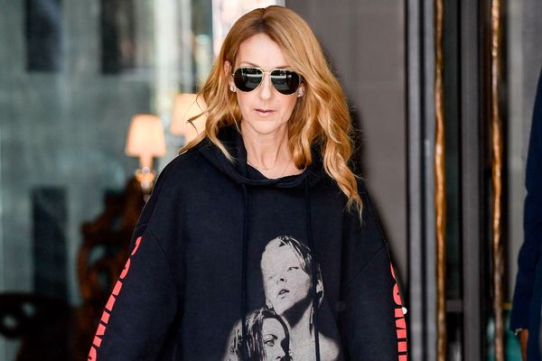 Here's Celine Dion in <i>Titanic</i>-Themed Vetements