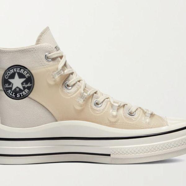Converse x Kim Jones Chuck 70 Canvas and TPU High-Top Sneakers