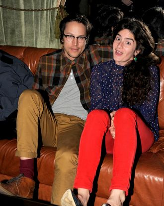 Cary Fukunaga, Gaby Hoffmann==The Cinema Society & Dior Beauty host the after party for